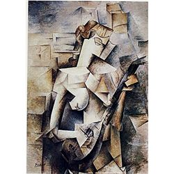 Limited Edition Picasso - Girl with a Mandolin - Collection Domaine Picasso