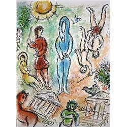 In Hell by Chagall from the Odyssey Suite.