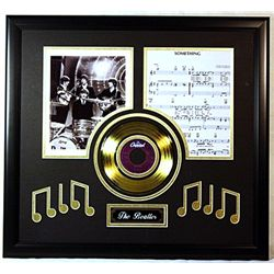 Beatles  Giclee with Record, Music Notes