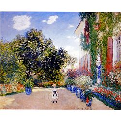 The Artist's House by Monet