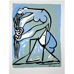 Picasso Lithograph-  Nude Bather