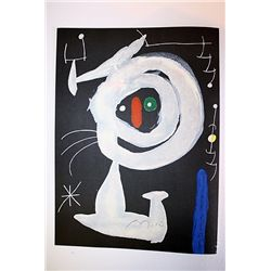 Joan Miro Original  Signed Lithograph-