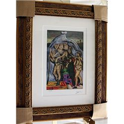 Salvador Dali Signed Limited Edition - Five Allegories Of Giovanni Bellini