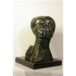 Pablo Picasso Original Original, limited Edition Bronze - Three Faces