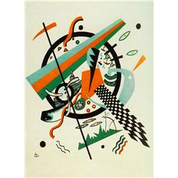From Small Worlds II - Kandinsky - Limited Edition on Canvas