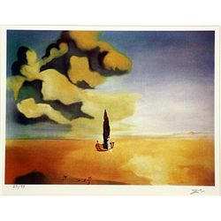 Salvador Dali Signed Limited Edition - Fluid Premonition