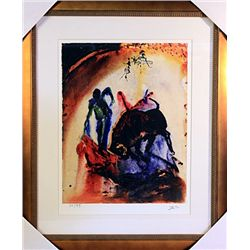 Salvador Dali Signed Limited Edition -TAUROMACHIE V