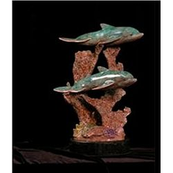 Bronze Sculpture - Courtship by Wallace