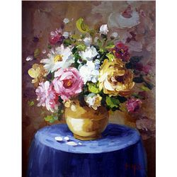 Original Oil on Canvas. Boquet by Hope
