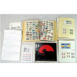 Large Assortment Of USA & World Stamps
