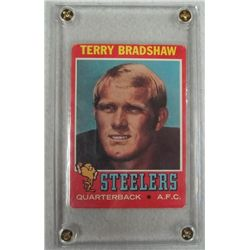 1970 Topps Terry Bradshaw Rookie Football Card