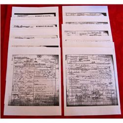 13 Capone Era Chicago Mobster Death Certificates