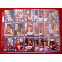 1978 Mork & Mindy Complete Set Trading Cards