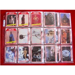 54 1980 Empire Strikes Back Series 1 Trading Cards