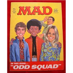 1969 Mad Magazine #127 with Mod Squad on Cover