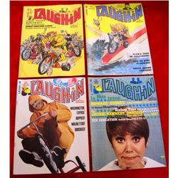 Lot of 4 – 1969 Laugh-In Monthly Magazines