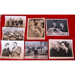 7 Original 1930/40's Movie Still Glossy Photo's