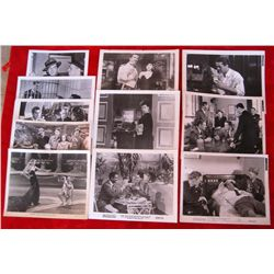 11 Original 1930/40/50's Movie Still Glossy Photos