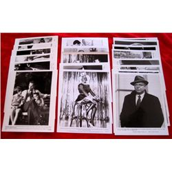 Lot of 22 -1970/80/90's Glossy Movie Still Photo's