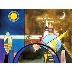 The Great Gate of Kiev - Kandinsky - Limited Edition on Canvas