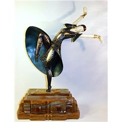 Almeria - Bronze and Ivory Sculpture by Chiparus