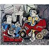 Limited Edition Picasso - Claude and Paloma at Play - Collection Domaine Picasso