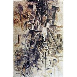 Limited Edition Picasso - The Accordionist - Collection Domaine Picasso