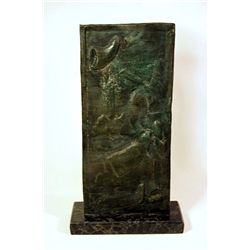 Salvador Dali Enchanting Original, limited Edition Bronze - Girl Possessed By Her Chastity