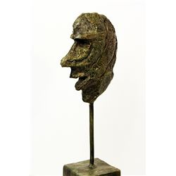 Alberto Giacometti  Original, limited Edition  Bronze - HEAD OF MAN