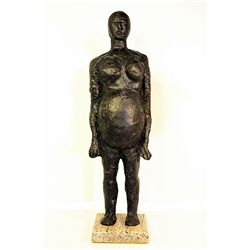 Pablo Picasso Original, limited Edition Bronze - Pregnant Woman