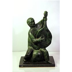 Gregor Kruk  Original, limited Edition  Bronze- Man with Bandura