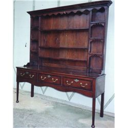 English c. 1750's Breakfront Cupboard. Purchased in England.