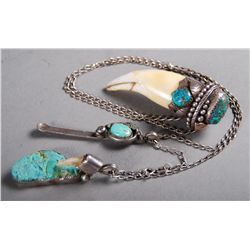 American Indian Jewelry Made by Navajo and Zuni In etc.