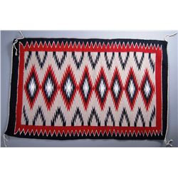 Native American Indian Rug.  Height/Length= 40(in) etc.