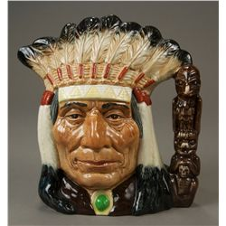"Royal Doulton Character Jug ""North American Indian etc."