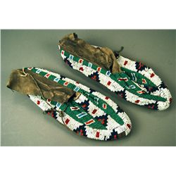 Native American Moccasins Either Cheyenne or possi etc.