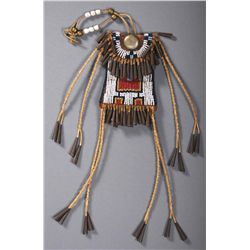 Native American Strike a Light Pouch Beaded Medici etc.