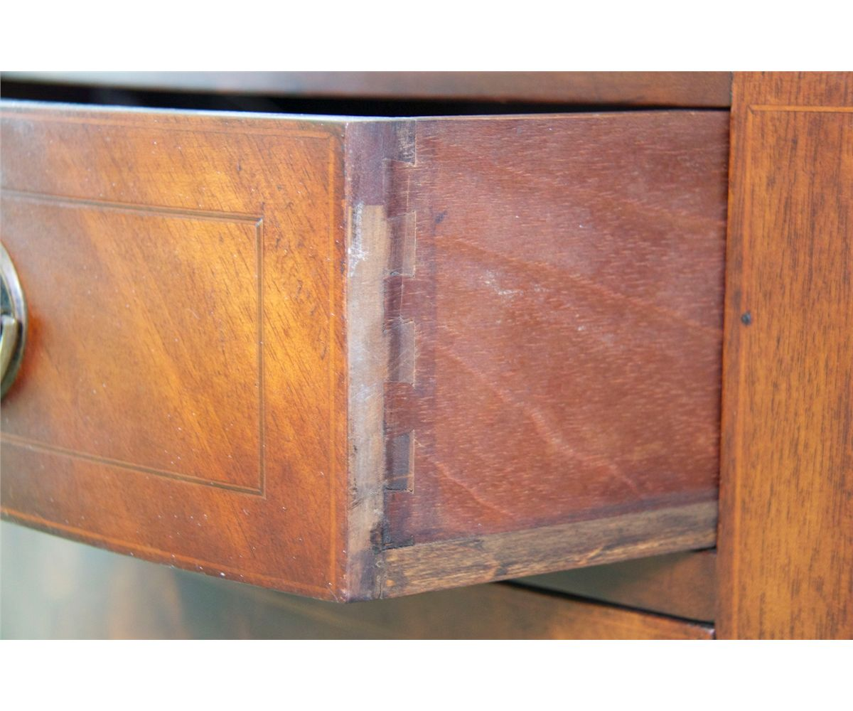 Demilune Console Cabinet half round _ –William Berkey""