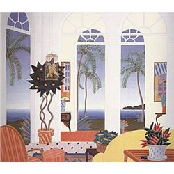 "Thomas Frederick McKnight (American, 1941), ""Palm Beach"", 1987."