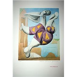 Limited Edition Picasso - Bather With Beach Ball - Collection Domaine Picasso