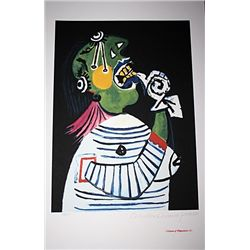 Limited Edition Picasso - Woman In Distress - Collection Domaine Picasso