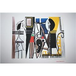 Limited Edition Picasso - Painter In His Studio - Collection Domaine Picasso