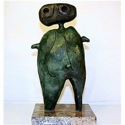 Joan Miro Original Limited Edition Bronze- Personage