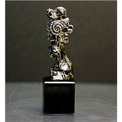 Dali Limited Edition Real Silver  Sculpture - Portrait Of Picasso