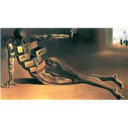 The Anthropomorphic Cabinet - Dali - Limited Edition on Canvas