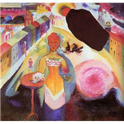 Lady In Moscow - Kandinsky - Limited Edition on Canvas