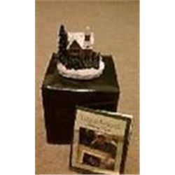 "Thomas Kinkade ""Victorian Christmas Minature Sculpture""  New in Box"