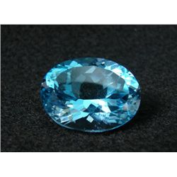 RPEX86 Flawless Natural Swiss Blue Topaz Gemstone 40.37