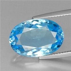11.58ct Swiss Blue Topaz