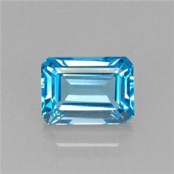 9.97ct Swiss Blue Topaz